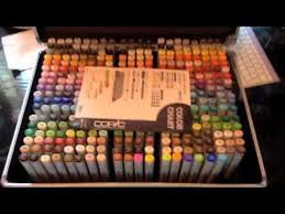 copic unboxing the complete sketch collection youtube