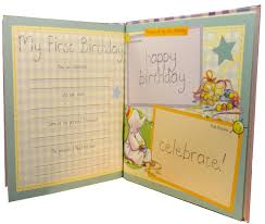 baby record book photo album memory humphrey my baby a year diary record book