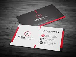 Free Business Card Layout Template scarlet creative business card template 盪 free 盪 cp00020