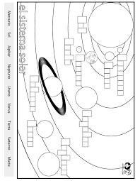 label the solar system worksheet worksheets