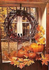 25 unique fall window decorations ideas on window
