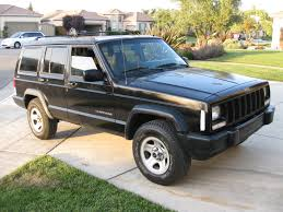 1997 2001 jeep cherokee xj on the hunt