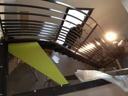 rambarde escalier design etude et fabrication escalier moderne design avec garde corps
