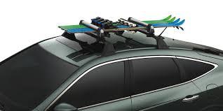 Honda Crv Roof Bars 2007 by Genuine Honda Crosstour Accessories Factory Honda Accessories