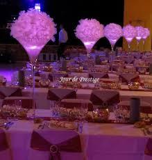 boulette papier mariage décoration vase martini boule de plumes anniversaire