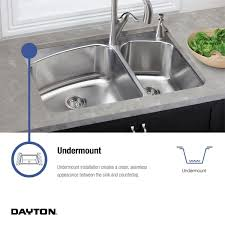 Elkay Crosstown Sink by Dayton Dxuh1618 Single Bowl Undermount Stainless Steel Bar Sink