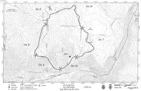 Wildfire Map Manitoba by Firefighters Battling South Fork Fire East Of Wawona California