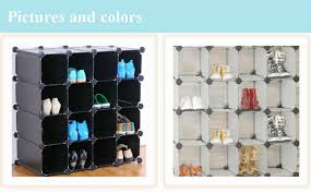 Closetmaid 15 Cubby Shoe Organizer White Shoe Organizer For Closet Cubes Roselawnlutheran
