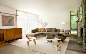 Family Room With Sectional Sofa Furniture Family Room Design With L Shaped Grey Mid Century