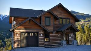 trappeur homes high efficient prefabricated dovetail log home