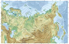 Russia And Central Asia Map by Geology Of Russia Wikipedia