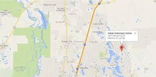 map of deltona florida contact us cohen veterinary center