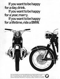 bmw motorcycle vintage vintage bmw advertisement silodrome
