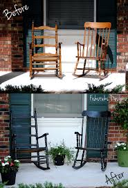 Chairs For Front Porch Front Porch Decorating The Good The Bad U0026 The What Were We