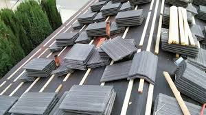 Flat Tile Roof How To Installing Flat Tile Roof With Wood Battens