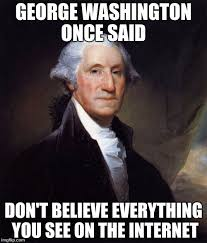 Funny Internet Meme - george washington meme imgflip
