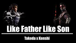 like father like son takeda vs kenshi mortal kombat x