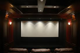 Show Us Your Screen Walls Page  AVS Forum Crown Moulding - Home theater stage design
