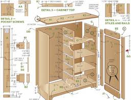 How To Make A Storage Shed Plans by Best 25 Cabinet Plans Ideas On Pinterest Ana White Furniture