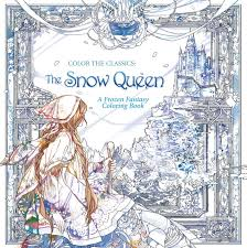 color classics snow queen frozen fantasy coloring book