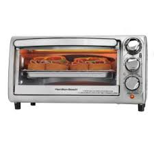 Black And Decker Stainless Toaster Oven Amazon Com Hamilton Beach 31143 Toaster Oven Silver Kitchen