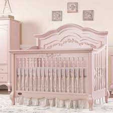 Convertable Crib Aspen Convertible Crib In Blush Pink And Nursery Necessities In