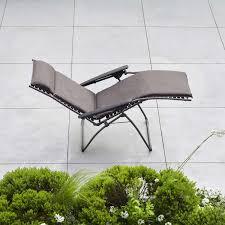 Lafuma Anti Gravity Chair Evolution Privilege Zero Gravity Recliner Padded Seat By Lafuma
