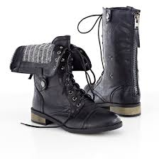 womens combat boots canada carrini s vegan leather boots