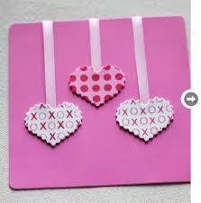 pink color easy handmade card trendy mods com
