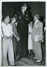 8 feet in inches don koehler the tallest man chicago