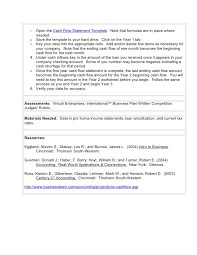 pro forma statement template cash flow statement template for