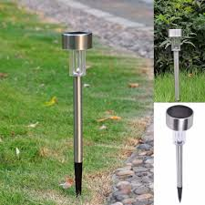 Landscape Path Lights by Aliexpress Com Buy Garden Outdoor Stainless Steel Led Solar