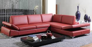 Maroon Sofa Living Room Sofas Living Room Sectionals With Chaise Red Sectional Sofa