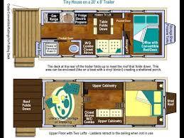 tiny house plans on wheels main floor bedroom office u0026 lofts