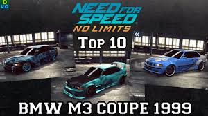 Bmw 1999 M3 Nfs No Limits Top 10 Bmw M3 Coupe 1999 August 2017 Youtube