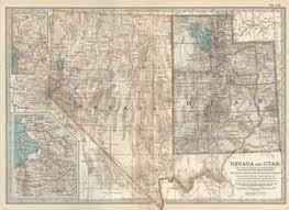map of utah map of utah and nevada the federal government owns 61 of idaho 64