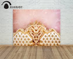 Baby Boy Photo Props Photography Background Golden Royal Bed Princess Baby Boy Props