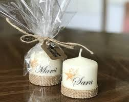 candle party favors the sea party etsy
