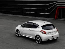 peugeot 208 gti 2016 2013 peugeot 208 gti rear hd wallpaper 43