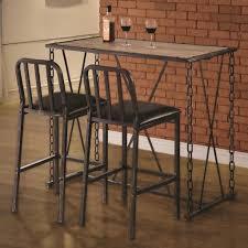 Rustic Pub Table Set 3 Piece Rustic Pub Table Set Home Table Decoration