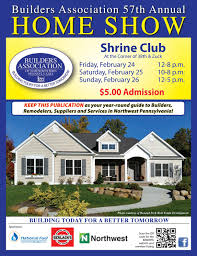 builders association of nw pa 2017 home show magazine by builder u0027s
