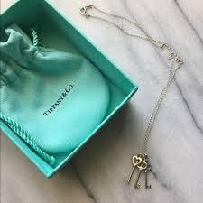 key pendant necklace tiffany images Tiffany co jewelry tiffany co 3 key pendant necklace poshmark jpg