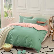 green bed set custom solid color bedding set green 50 silk satin bedding sets