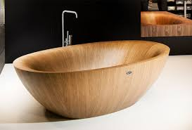 wooden bathtubs elegant bathtubs made entirely of wood twistedsifter