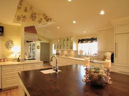 classy french country kitchen style features cream color rectangle