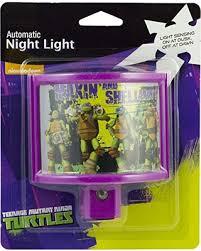 automatic led night light savings on jasco nickelodeon teenage mutant ninja turtles automatic
