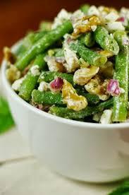 fresh green bean walnut u0026 feta salad the kitchen is my playground