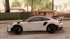 Gt2 Rs 0 60 Porsche 911 Gt2 Rs Weissach Package Sa Plate For Gta San Andreas