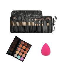 color concealer aliexpress com buy 15 color concealer palette sponge puff 24