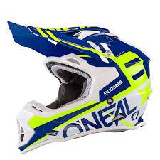 o neal motocross gear o u0027neal helmet 2series rl spyde blue hi viz yellow 2018 maciag
